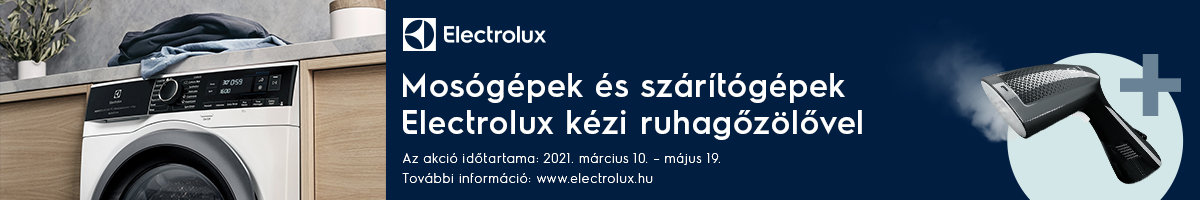 Electrolux  laundry március 10-  május 19
