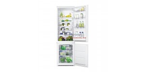 Zanussi ZBB28441SA beépíthető kombinált hűtőszekrény